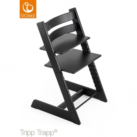 Stokke Tripp Trapp Oak Black Eiche