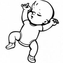 Baby Autoaufkleber BS076