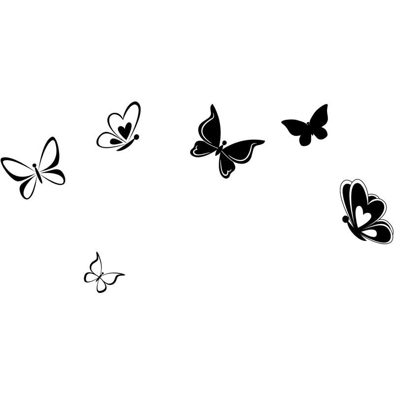 Butterflies Wandtattoo