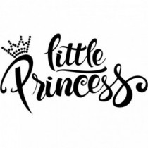 Little Princess Wandtattoo