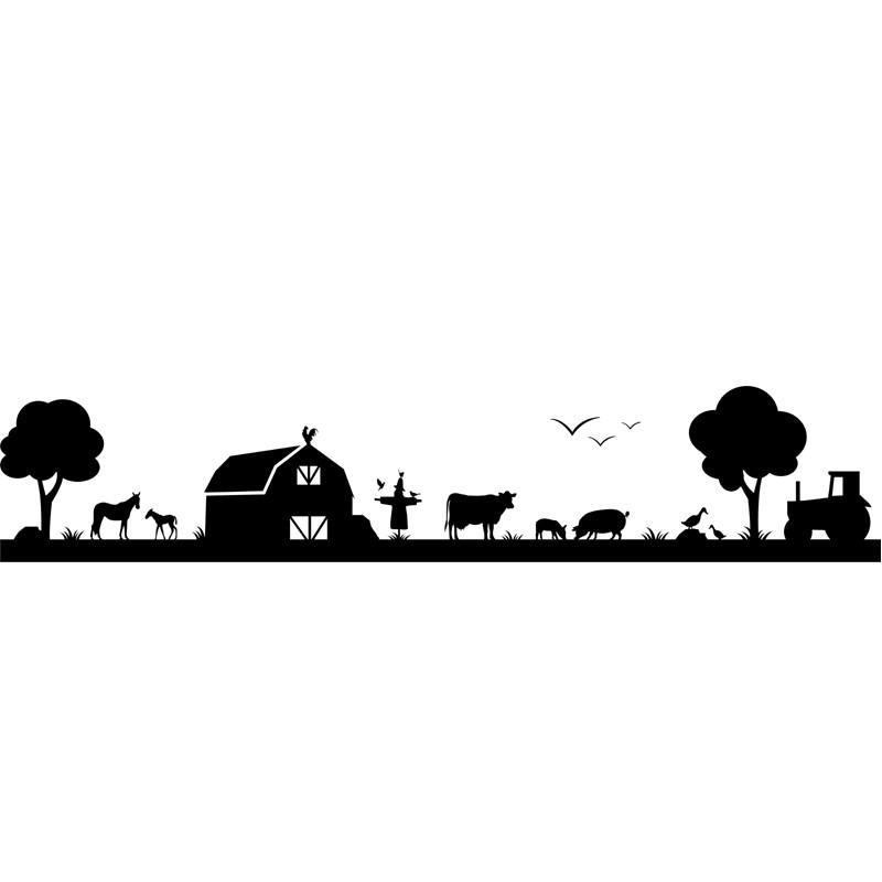 Farm Stock Wandtattoo