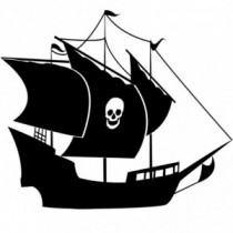 Piratenschiff Wandtattoo
