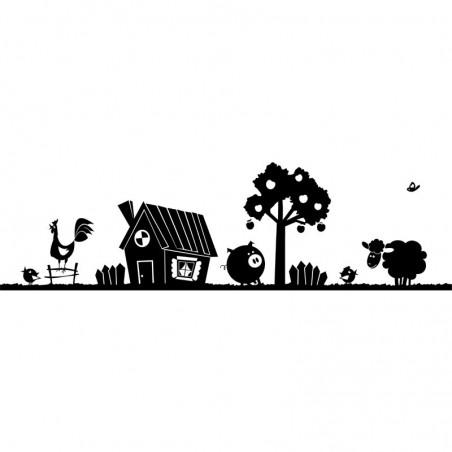 Animal Farm Wandtattoo