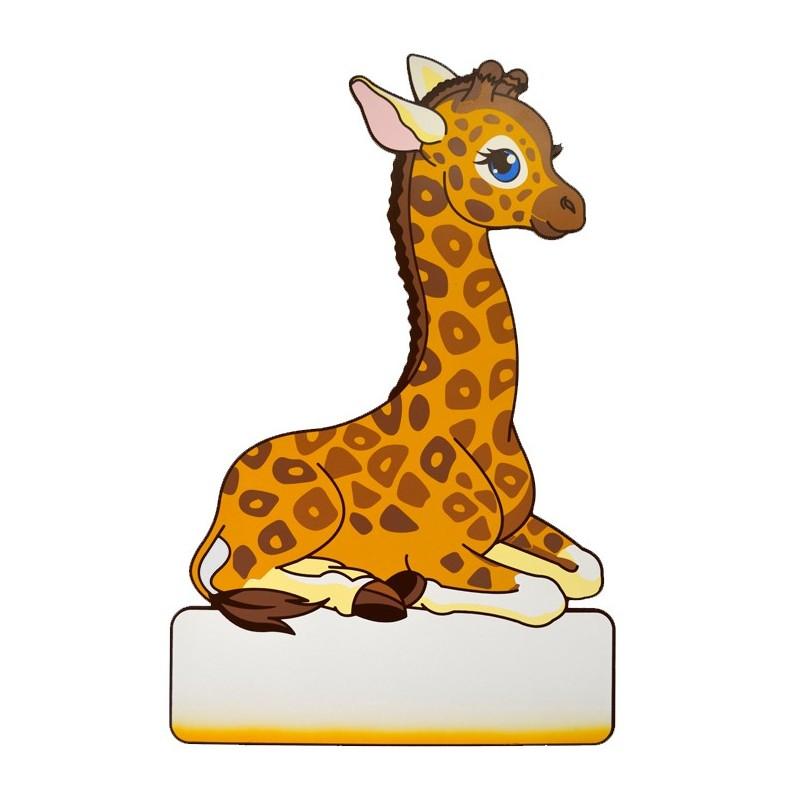 Geburtstafel Giraffe