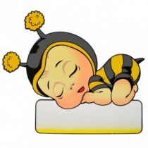 Geburtstafel Biene