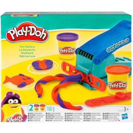 Play-Doh Knetwerk mit 2 Dosen Knete
