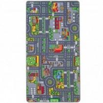Spielteppich City 100x165cm
