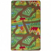 Spielteppich Bauernhof 100x165cm