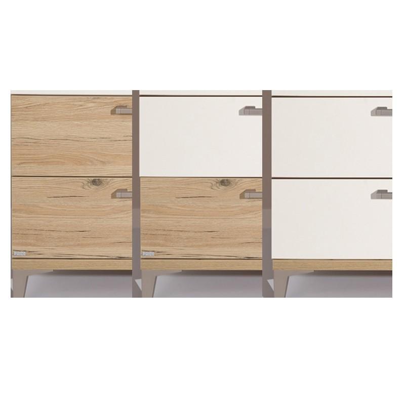 Paidi Remo Kleiderschrank 4 Türen und 2 Schubladen