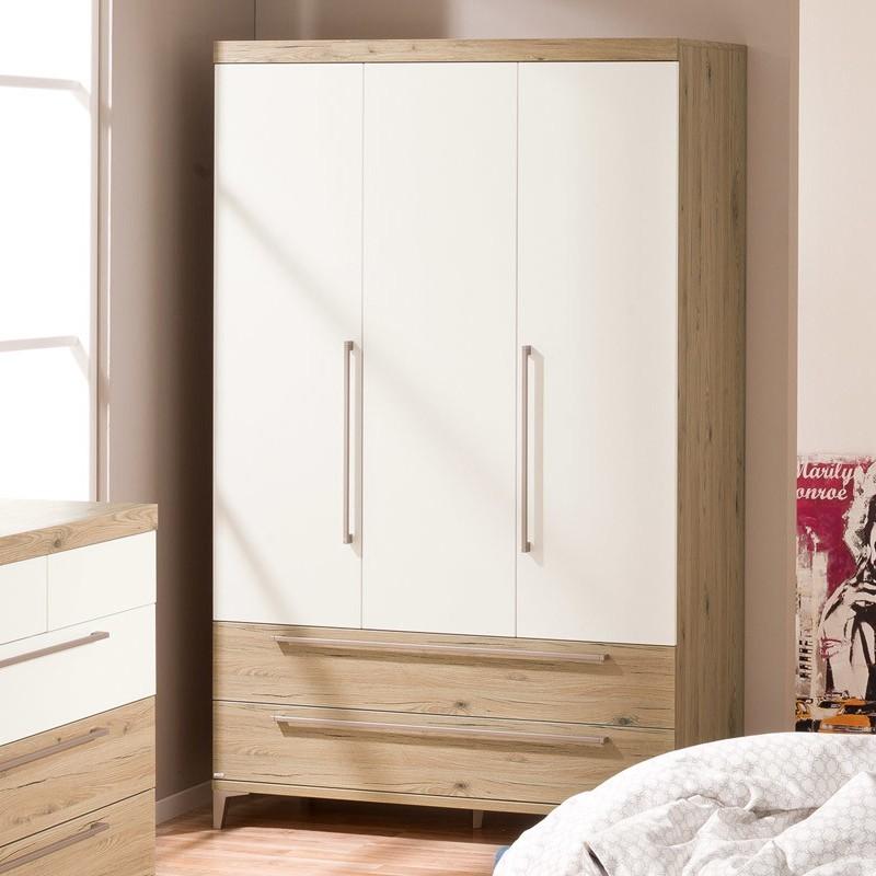 Paidi Remo Kleiderschrank 3 Türen und 2 Schubladen