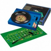 Roulette Set mit Kunststoff-Teller 30 cm