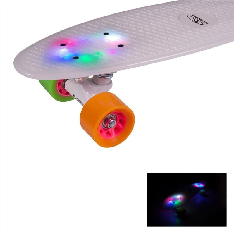 Hudora Skateboard Retro Rainglow ab 5 Jahren