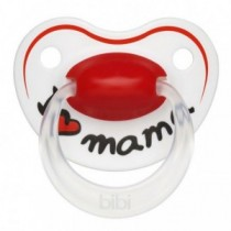 bibi Happiness Nuggi Schnuller Ring Mama 0-6 Monate
