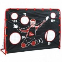 Hudora Floorballtor mit Torwand Unihockey Hockey Tor 57206