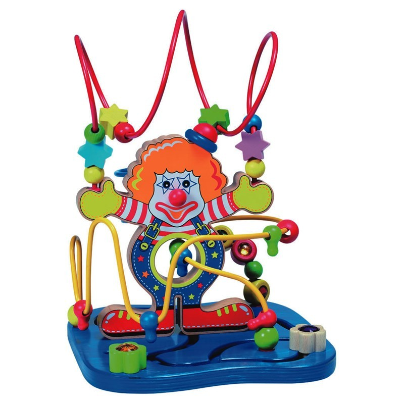 Spielba GoGo Toys Motorikschleife Clown ab 18 Mt.