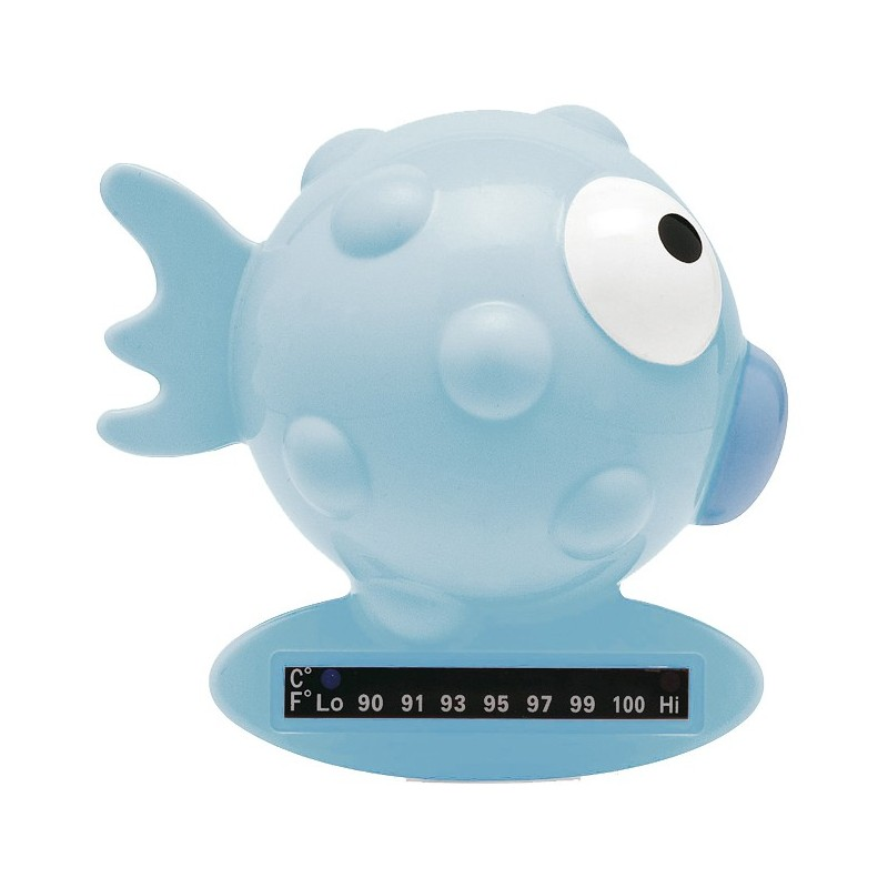 Chicco Badethermometer Fisch blau