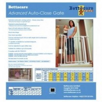 Bettacare Advanced Auto-Close Türschutzgitter Absperrgitter 75-82cm