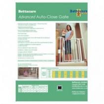 Bettacare Advanced Auto-Close Türschutzgitter Absperrgitter 68,5-75cm