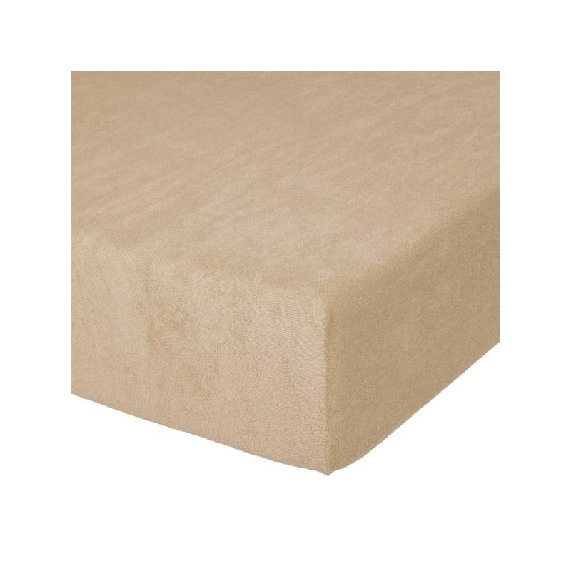 Fixleintuch Spannbetttuch Frottee 70x140 cm Sand 10