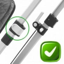 Bugaboo Cameleon Schiebestangen Clips Reparatur-Set