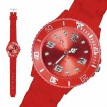 Armbanduhr Hot Sun II Silikon rot