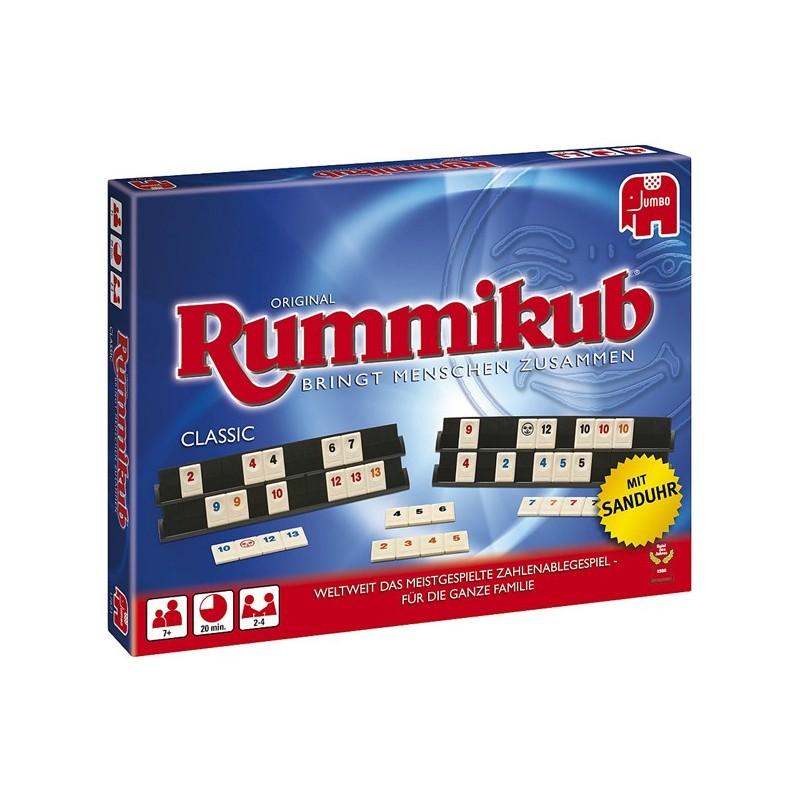 Jumbo Rummikub Classic mit Sanduhr