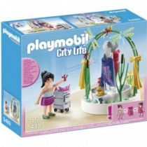 Playmobil Dekorateurin mit LED-Podest 5489