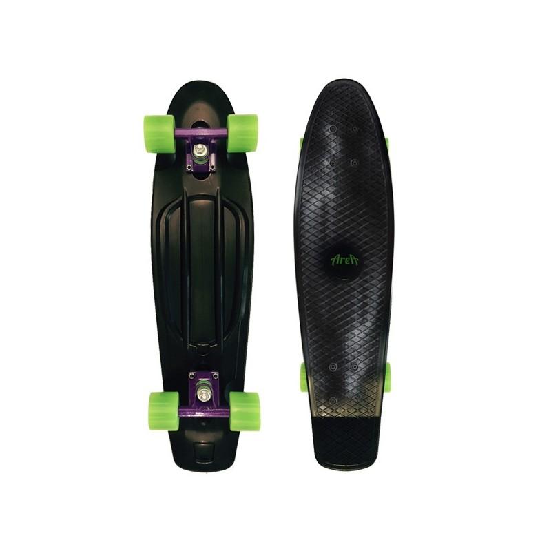 """Area Candy Board Skateboard 28"""" black neon green ab 10 Jahren"""