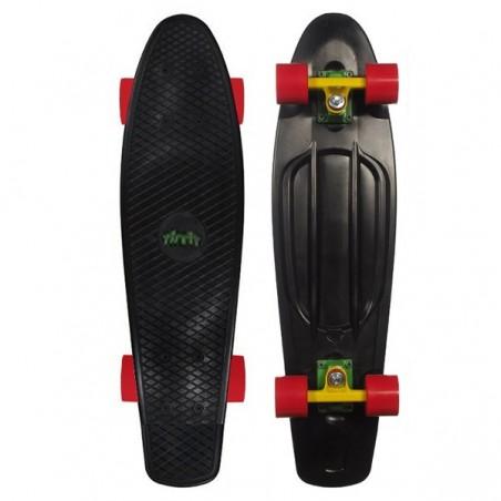 """Area Candy Board Skateboard 28"""" schwarz-rot ab 10 Jahren"""