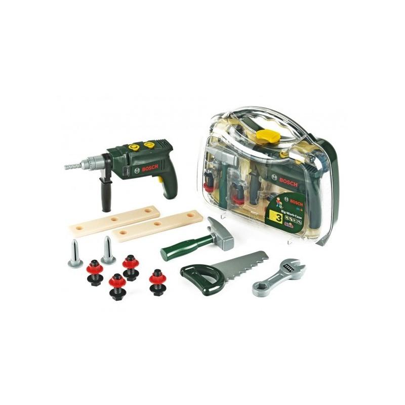 Theo Klein Bosch Werkzeugkoffer 12-teilig 8416