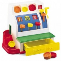 Fisher Price Kasse Registrierkasse 72044