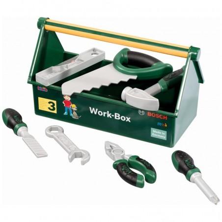 Theo Klein Bosch Werkzeug-Kiste 7-teilig 8573
