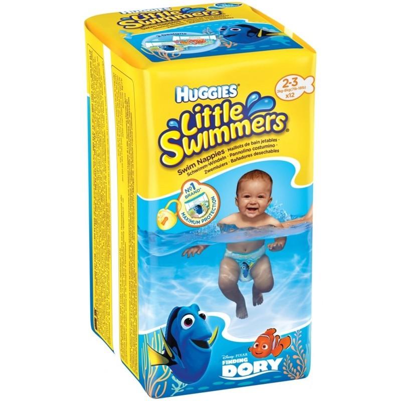 Huggies Schwimmwindeln 3-8 kg Grösse 2-3 Little Swimmers