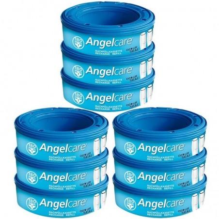 Angelcare Nachfüllkassetten Plus 9 Stück