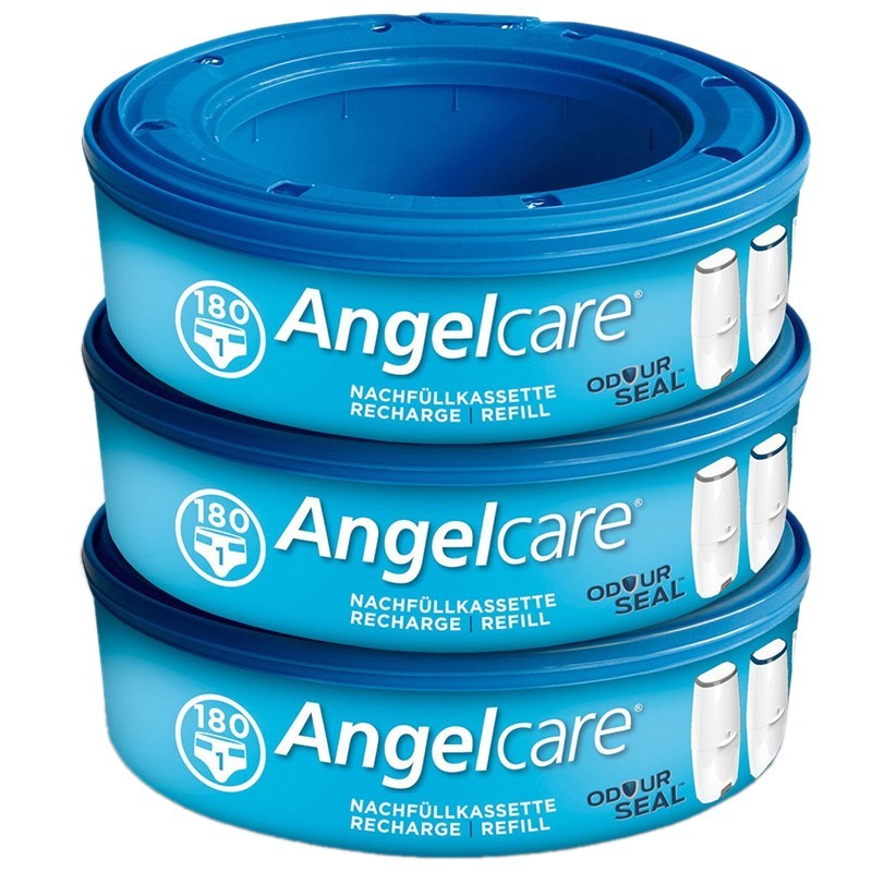 Angelcare Nachfüllkassetten Plus 3 Stück
