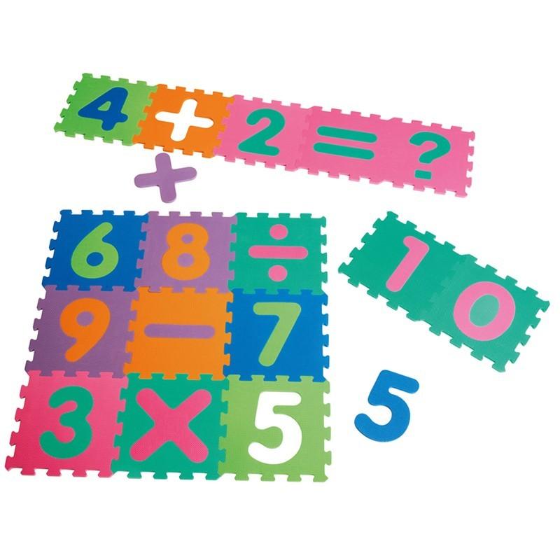 Original Playshoes Puzzlematten 16-teilig