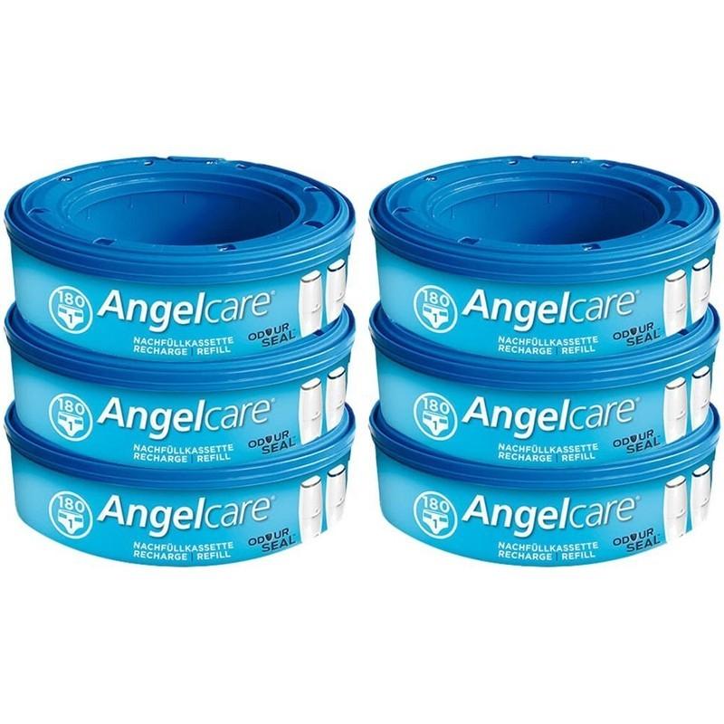 Angelcare Nachfüllkassetten Plus 6 Stück
