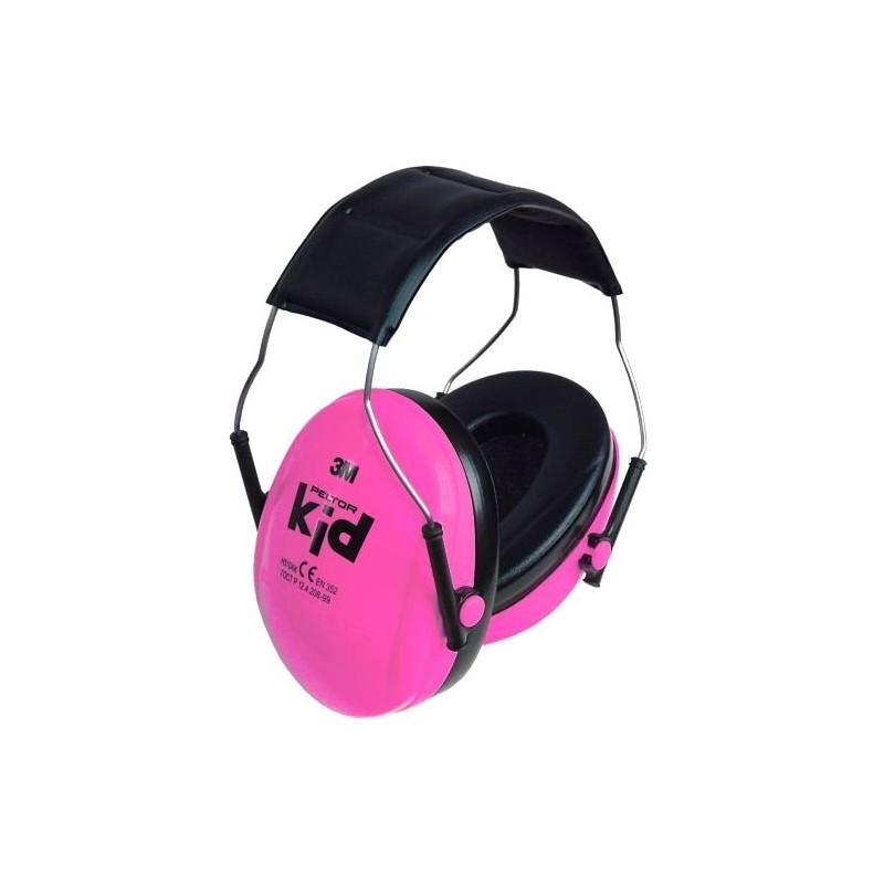 Peltor Kid 3M Gehörschutz 2-7 Jahre Pink