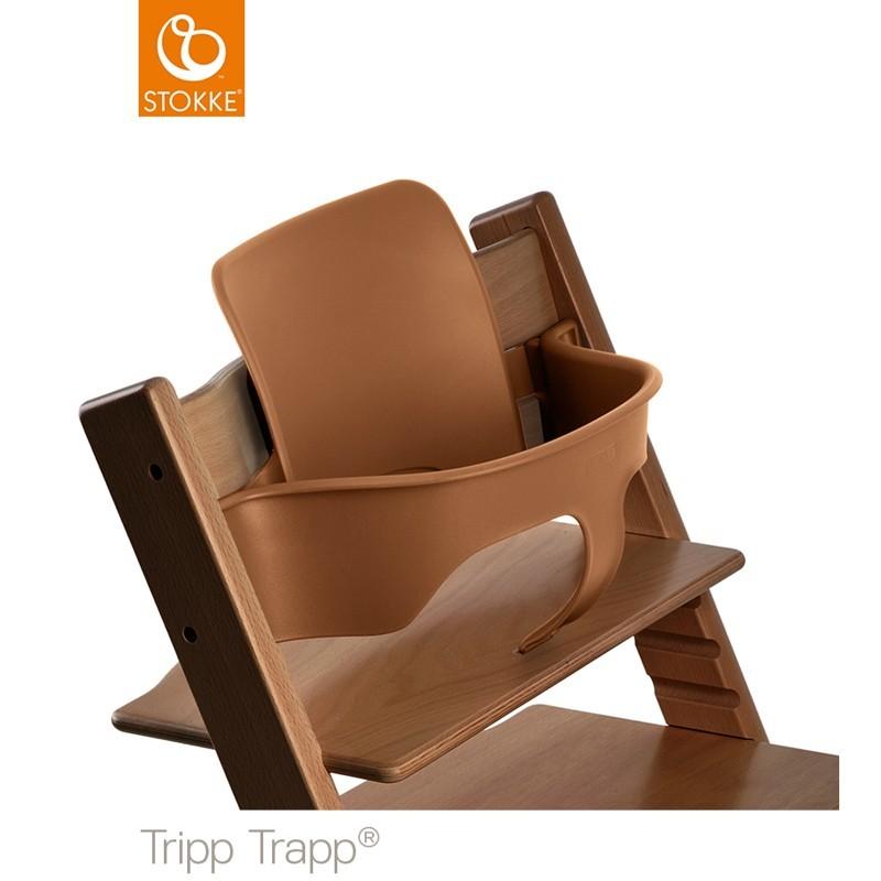 stokke tripp trapp baby set walnuss jetzt g nstig online kaufen zum besten preis der schweiz und. Black Bedroom Furniture Sets. Home Design Ideas