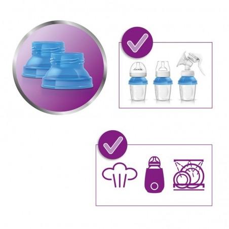 Philips Avent 10 Aufbewahrungsbecher für Muttermilch 180 ml