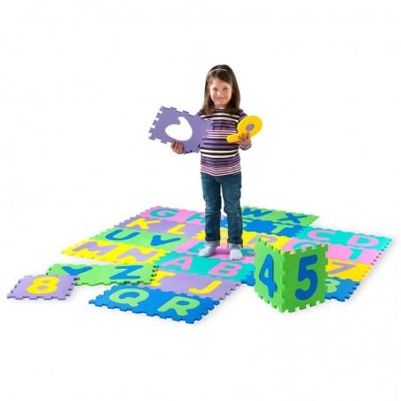Original Playshoes Puzzlematten 36-teilig bunt