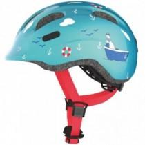 ABUS Kinder Fahrradhelm Smiley 2.0 Grösse M 50-55 cm turquoise sailor