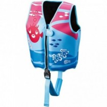 BECO SEALIFE Schwimmweste 18-30 kg blau-pink