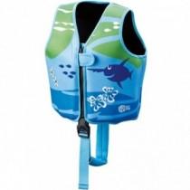 BECO SEALIFE Schwimmweste 18-30 kg blau-grün
