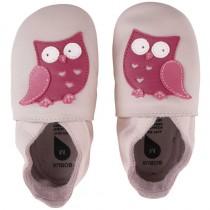 Bobux Krabbelschuhe Soft Sole 3-9 Monate Owl Blossom Grösse S