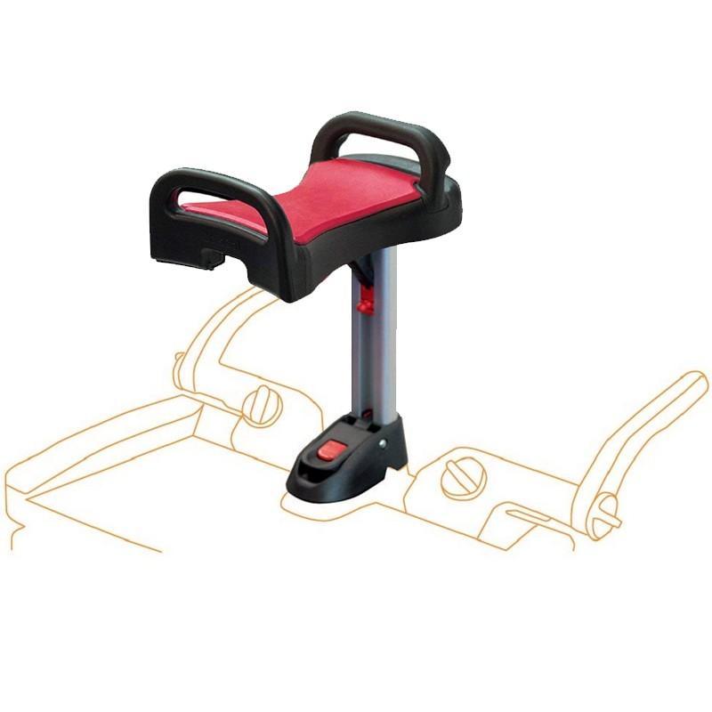 Lascal BuggyBoard Maxi Saddle Sitz Rot