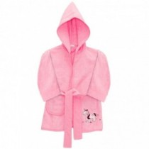 Fillikid Bademantel Einhorn Pink 12-24 Monate