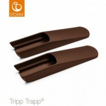 Stokke Tripp Trapp Extralange Bodengleiter Walnuss
