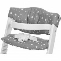 Fillikid Sitzbezug für Hochstuhl Sterne Grau