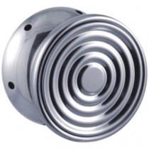 YoYo Iron Buzzer Silver Brush Metallic